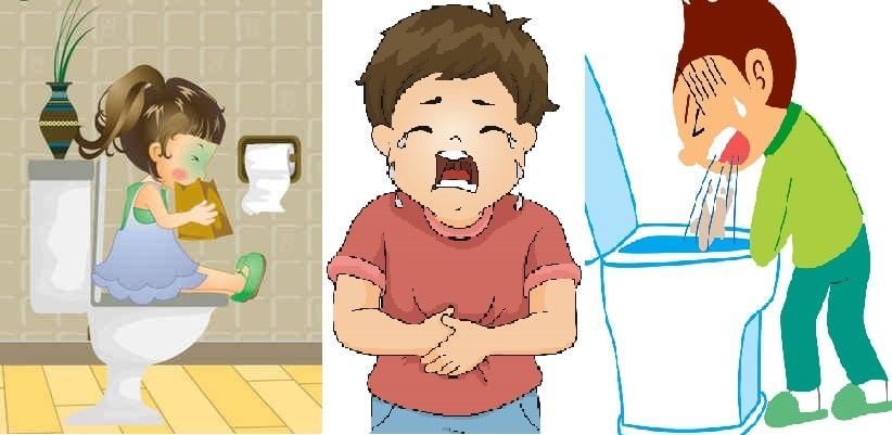 bệnh dạ dày ở trẻ 1