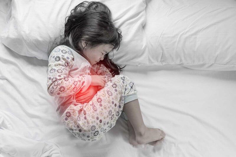 Coi chừng: Bé 4 tuổi đã bị viêm dạ dày