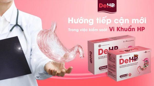 DeHP giúp chấm dứt bệnh trào ngược dạ dày thực quản